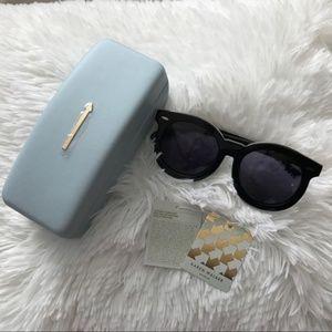 NWT Karen Walker Super Duper Sunglasses ALT FIT